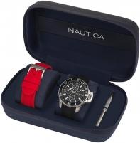 Vīriešu pulkstenis Nautica Dárková sada Bayside NAPBYS007