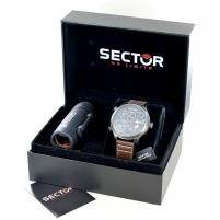 Vyriškas laikrodis Sector Dárková sada s dalekohledem Traveller R3251504003