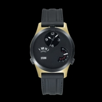 Vyriškas laikrodis Storm Tri Time Gold/Black