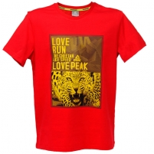 Vyriški marškinėliai PEAK red