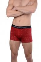 Vyriškos apatinės kelnaitės Tommy Hilfiger Mens Boxers Cotton Icon Trunk Logo Valentines UM0UM00386-632 Scooter Vyriškos kelnaitės