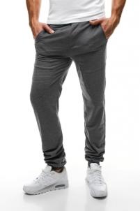 Vyriškos laisvalaikio kelnės Rik (pilkos) Vyriški sportiniai kostiumai