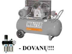 WALTER GK530-3,0/200 stūmoklinis oro kompresorius su 200 L resiveriu Reciprocating compressor
