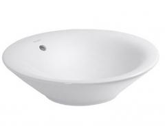 Wash bowl 53 cm Starck 1 white,with overflow, w/
