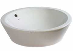 Wash bowl 53 cm Starck 1 whitewith overflow, w/o
