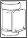 WAVIN kontrolinis prievamzdis 110 mm (rudas) Rainwater control prievamzdžiai