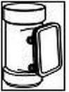 WAVIN kontrolinis prievamzdis 75 mm (rudas) Rainwater control prievamzdžiai