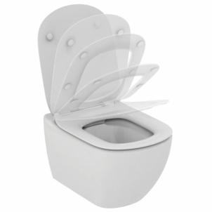 WC pakabinamas Ideal Standard Tesi, Rimless, su paslėptais tvirtinimais Klozetai unitazai