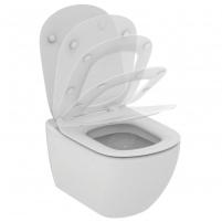 WC withspended Ideal Standard Tesi, with paslėptais tvirtinimais Lavatory closets