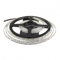 Whitenergy LED juosta 5m | 3528 | 4.8W/m | 12V DC | RGB