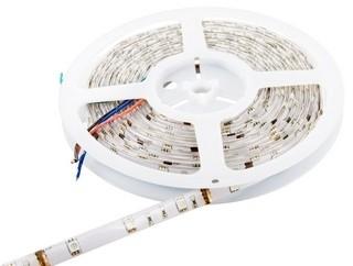 Whitenergy LED juosta atsapri vandeniui 5m | 30vnt/m | 5050| 7.2W/m| 12V DC| RGB