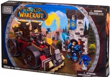World of WarCraft Mega Bloks 91026 Demolisher Attack
