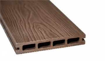 WPC (Medžio-plastiko kompozitas) lenta F140K23 140x23x2900 0,406m2 RUDA 003 Terraced boards