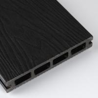WPC (Medžio-plastiko kompozitas) lenta F140K23 140x23x5800 0,812m2 JUODA 002 Terasinės lentos