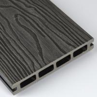WPC (Medžio-plastiko kompozitas) lenta F140K23 140x23x5800 0,812m2 PILKA 011 Terraced boards