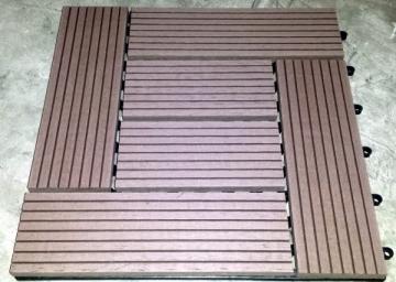 WPC plytelė M300S300 300x300x22 0,09m2 RUDA Terraced boards