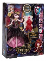 Y7702 / Y7703 Monster High 13 Wishes Draculaura 2013