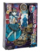 Y7702 / Y7704 Monster High 13 Wishes Frankie Stein Toys for girls