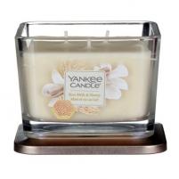 Yankee Candle Aromatic candle medium square Rice Milk & Honey 347 g