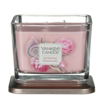 Yankee Candle Aromatic candle middle square Salt Mist Peony 347 g
