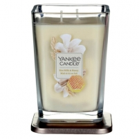Yankee Candle Aromatic large rectangular candle Rice Milk & Honey 552 g