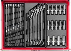 YATO profesionali įrankių spintelė su 177 įrankiais, 6 stalčiais
