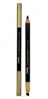 Yves Saint Laurent Eye Pencil Long Lasting Cosmetic 1,2g Nr.1 Akių pieštukai ir kontūrai