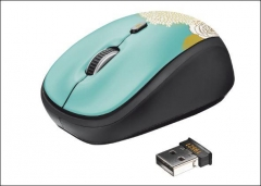 Yvi Wireless Mouse - flower