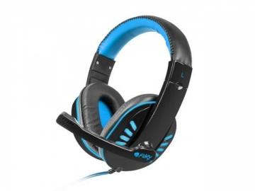 Žaidimų ausinės Fury NIGHTHAWK su mikrofonu, 2 x Mini Jack 3,5mm