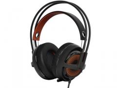 Žaidimų ausinės SteelSeries Siberia 350 Black