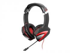 Žaidimų ausinės su mikrofonu A4-Tech G500 Stereo