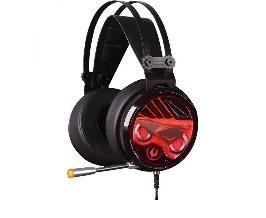 Žaidimų ausinės su mikrofonu A4-Tech Bloody M630 Black USB