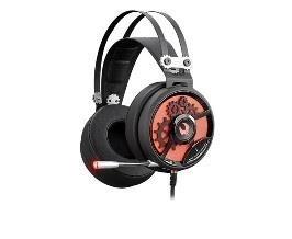 Žaidimų ausinės su mikrofonu A4-Tech Bloody M660 Black+Red USB
