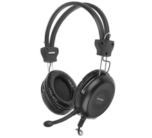 Žaidimų ausinės su mikrofonu A4-Tech HS-30