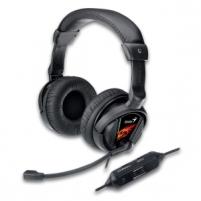 Žaidimų ausinės su mikrofonu Genius Game HS-G500V, Su vibracijos funkcija