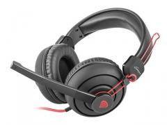 Žaidimų ausinės su mikrofonu Natec Genesis H70 , 1 x Mini Jack 3.5mm