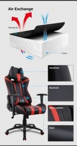 Žaidimų kėdė Aerocool AC-120 AIR Juoda Jaunuolio kėdės