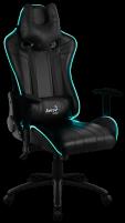 Žaidimų kėdė Aerocool AC-120 AIR RGB / Juoda