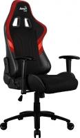 Žaidimų kėdė Aerocool AERO 1 Alpha Juoda/Raudona