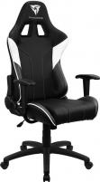Žaidimų kėdė Aerocool THUNDER3X EC3 AIR Juoda/Balta Jauniešu krēsli