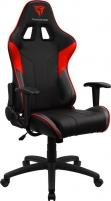 Žaidimų kėdė Aerocool THUNDER3X EC3 AIR Juoda/Raudona