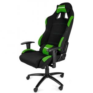 Žaidimų kėdė AKracing K7012 Gaming Chair Gaming Chair, Black/ Green Jaunuolio kėdės