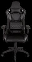 Žaidimų kėdė Corsair T1 RACE 2018, High Back Desk and Office Chair, Juoda Jaunuolio kėdės