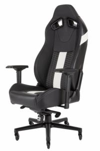 Žaidimų kėdė Corsair T2 ROAD WARRIOR High Back Desk and Office Chair Juoda/Balta Jaunuolio kėdės