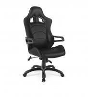 Žaidimų kėdė DARADO juoda Jaunuolio kėdės