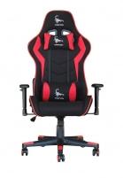 Žaidimų kėdė Gembird SCORPION, Medžiaginė, Juodai raudona Jaunuolio kėdės