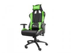 Žaidimų kėdė GENESIS NITRO 550 Black-žalias Jaunuolio kėdės