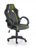 Žaidimų kėdė RADIX pilka/žalia