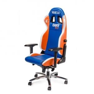 Žaidimų kėdė Sparco Gaming chair, Codemasters - Dirt Rally, Blue Jaunuolio kėdės
