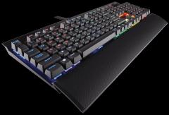 Žaidimų klaviatūra Corsair K70 RAPIDFIRE Backlit RGB LED - Cherry MX (EU layout)